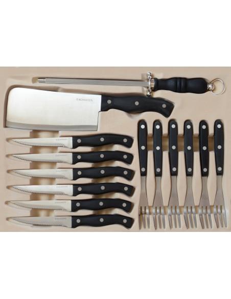 Набор кухонной посуды из нержавеющей стали Kohersen
